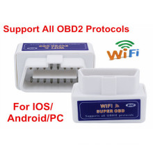 ELM327 WiFi Elm 327 OBD2 escáner automático para Android y Ios sistema