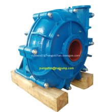 Horizontal slurry pump with rubber liners