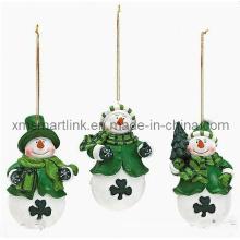 Weihnachten Schneemann-Dekoration-Geschenke,
