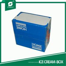 Boîte de papier corruagted de taille moyenne pour la crème glacée