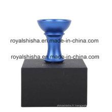 Populaire Nouveau Hookah Aluminium Narguilé Accessoire Shisha Bol