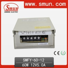 60W 12V 5A IP40 Rainproof Outdoor Switching Power Supply
