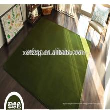100% polyester microfibre salle de jeux couverte salle de douche tapis à long pile 100% polyester machine lavable tapis d'entrée
