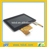 New promotipnal 4.3 inch 480x272 dots tft lcd display with RTP/CTP cover lens