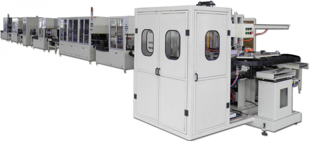 Automatic Assembly Line for Automotive