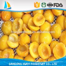 Iqf gefrorene neue frische gelbe Pfirsich für heißen Verkauf