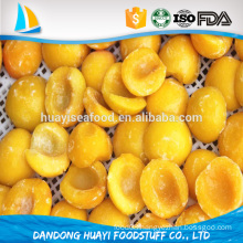 iqf frozen new fresh yellow peach for hot sale