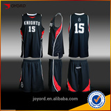 2016 100% Polyester quick dry latest new best design basketball jersey