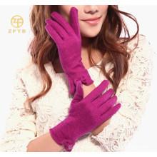 Spring wholesale cute sheep wool gloves factory
