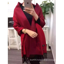 Solid Color Wool Scarf