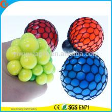 Bola de malha de baixa qualidade TPR Squish da venda a quente