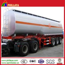 Réservoir de semi-remorque de réservoir de carburant de 30-70m3 / cuve d'acier inoxydable de réservoir d'eau