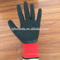13G nylon work gloves coated with foam latex on 3/4palm