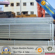 30*30*1.0mm Pre Galvanized Square Steel Tube/Pipe
