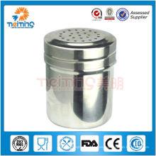 frasco de pimienta y sal de acero inoxidable de buena calidad