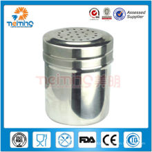 good quality stainless steel pepper jar and salt jar