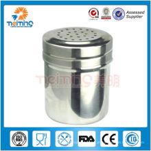 boa qualidade em aço inoxidável pote de pimenta e pote de sal