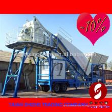 YHZS50 Planta de hormigón portátil / móvil para la venta- (capacidad de 50m3 / h), Planta mezcladora de hormigón móvil
