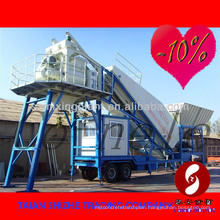 YHZS50 Portable/mobile Concrete Batching Plant For Sale- (capacity of 50m3/h ), Mobile Concrete Mixing Plant