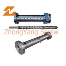 Estirador de solo tornillo y barril para línea de extrusión