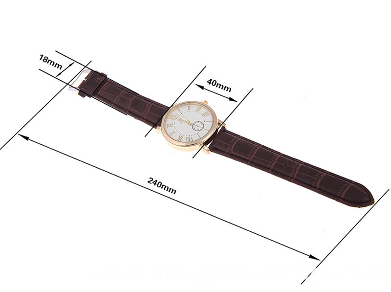 fashion leather watch