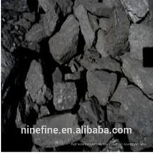 China hohe Stärke große Größen FC 88% Gießerei Koks mit niedriger Feuchtigkeit