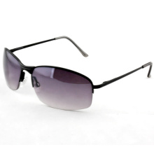 High Quality Fshion Polarized Retro Unisex Metal Sunglasses (14235)