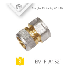 EM-F-A152 nickel plated brass Aluminum plastic pipe fitting