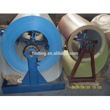 Máquina de desbobinador simples bobina de aço da China