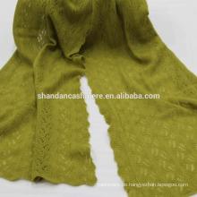 Innere Mongolei Fabrik gemacht reine Cashmere Mode stricken Schal