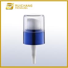 Pompe de lotion cosmétique en plastique avec petit AS overcap