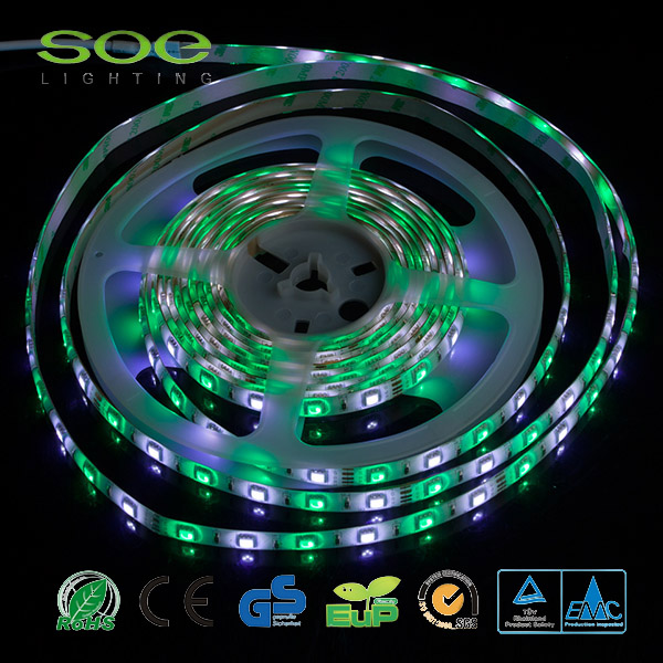 Impermeable 110v Flexible doble cara LED Strip