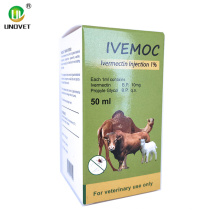 50ml Ivermectin Injection for Pig Use