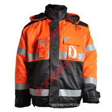 SGS Safety Cn Fire Resistant Clothing with Reflective Tape