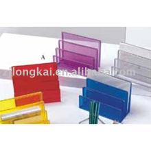 Офис стол организатор металлический видах сетки из папки канцелярские держатель организатор