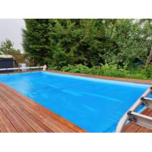 Weatherproof swimming pool tarp