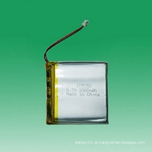 3.7V Li-Polymer Battery 105050 3000mAh bateria recarregável