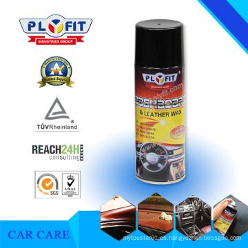 Cera de pulverización polaca del silicón del tablero de instrumentos del coche