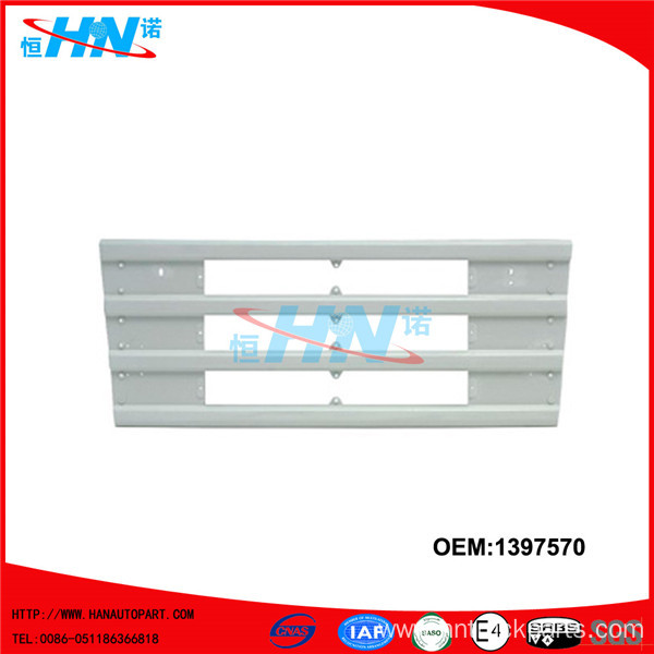 Plastic Upper Grille 1397570 Scania Truck Body Parts