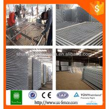 Australie standard Revêtement en PVC galvanisé / enduit temporaire / clôture mobile / clôture portable (ISO9001, usine)