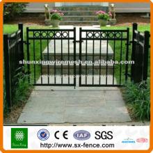 Portão de ferro forjado portão único portão duplo