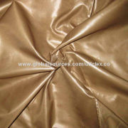 Polyester Fine Taffeta with Cire Finish/PVC Coating/Water-resistant, Various Coatings are Available