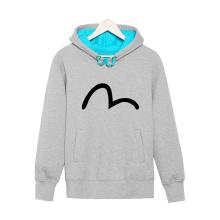Простой Графический Пуловер Свободный Стиль Теплый Мужчины Толстовка С Капюшоном Пот Рубашка
