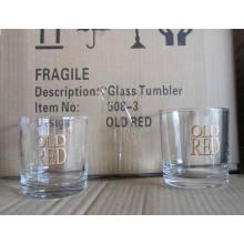 Vidrio de consumición corto de la venta caliente para el whisky de la barra (TM105S)