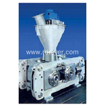 Gypsum powder granulating machine