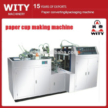 Machine de fabrication de tasses en papier PE simple