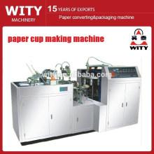 Único copo do papel do PE que faz a máquina