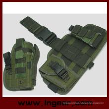 Componente táctico militar Molle gota pierna pistola pistolera Combo funda Od