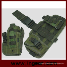Componente militar tático Molle gota perna pistola coldre Combo coldre Od