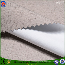 Jacquard Polyester Flame-Resistant Coated Flocking Shading Curtain Fabric